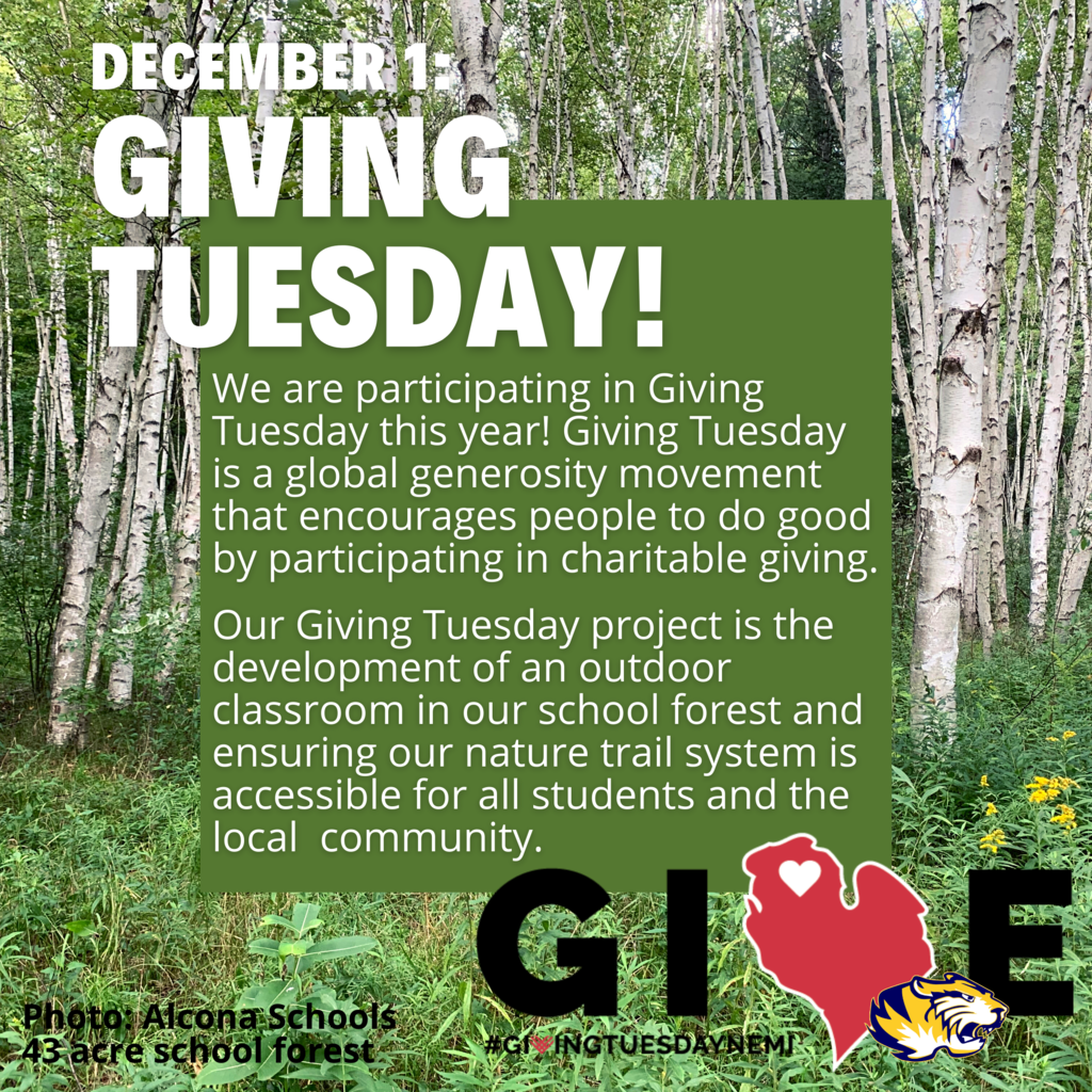 Only 12 days until Giving Tuesday! Check out our 2020 #GivingTuesday project at: bit.ly/ACSGivingTuesday2020