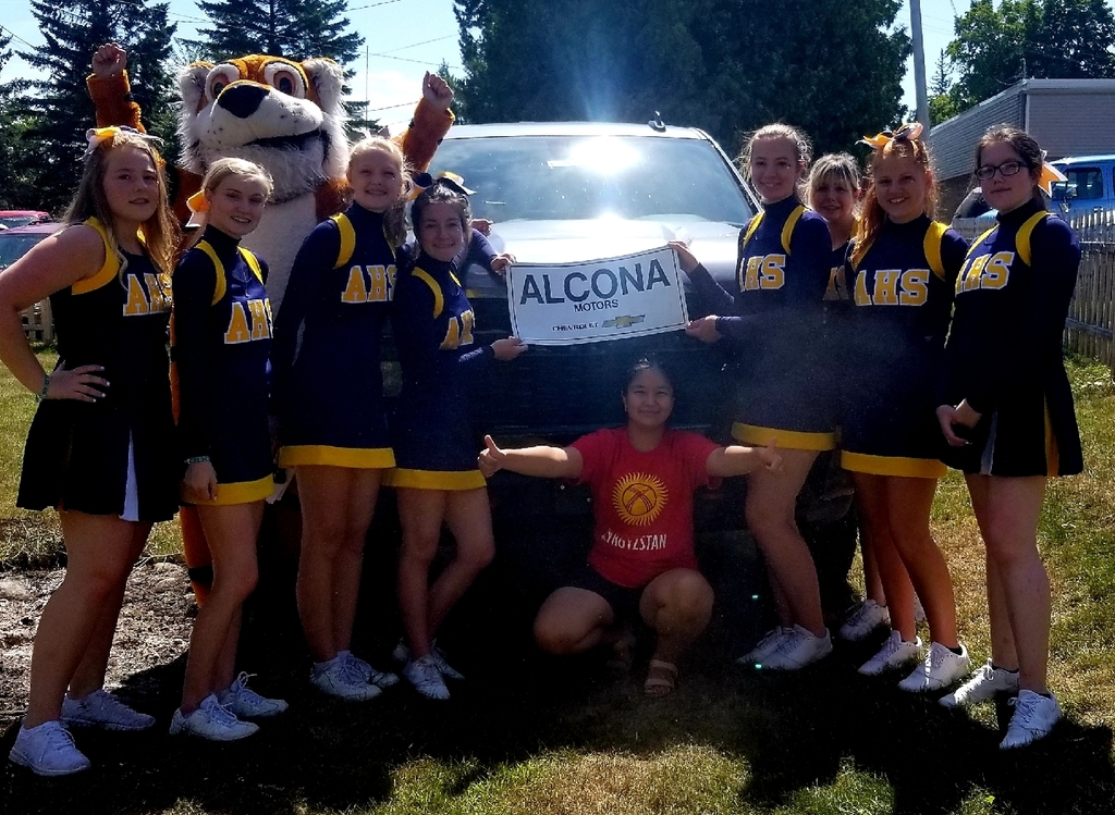 Thank you Alcona Motors!