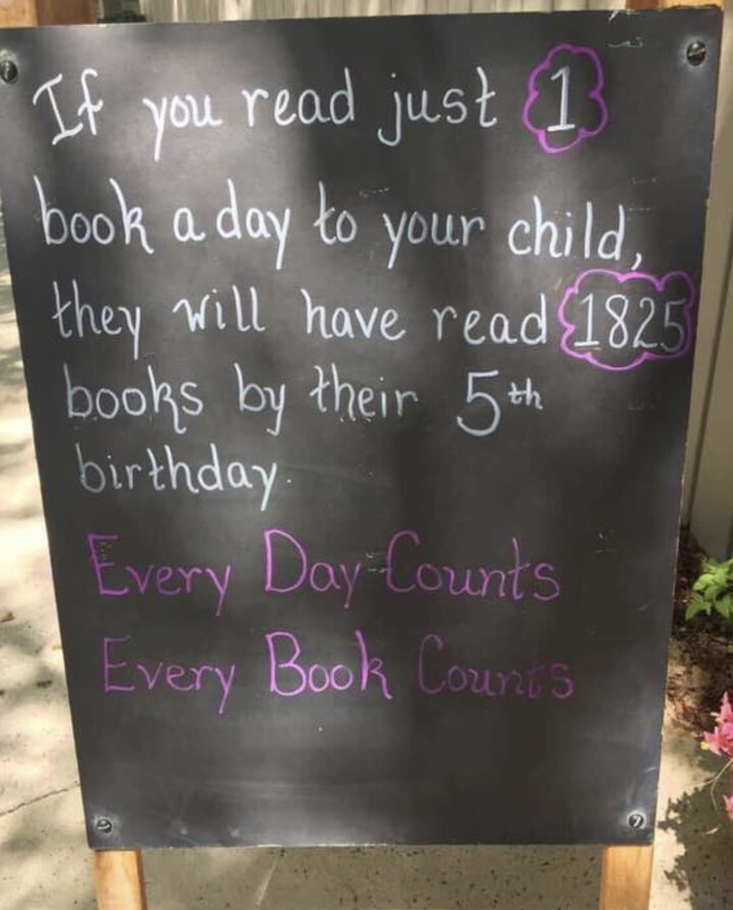 Every book counts!