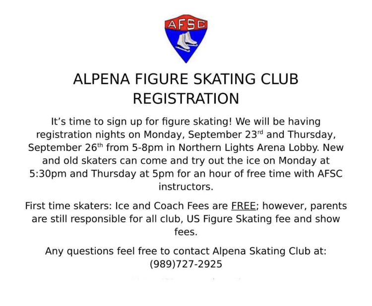 Figure Skating Flyer
