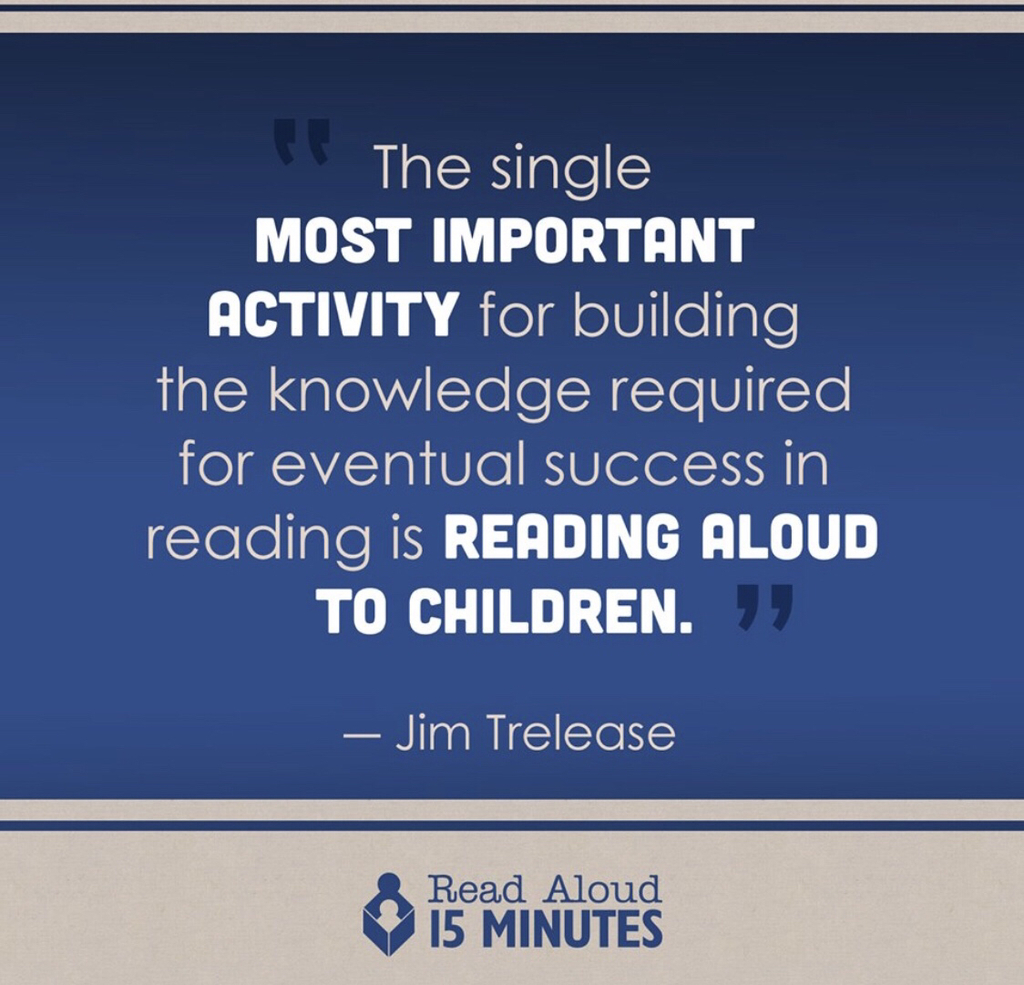 Read aloud!