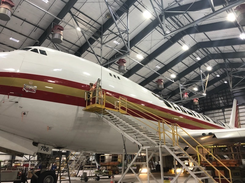 Our Academic Counselor and Career Navigator recently toured Kalitta Air's 500,000sf of hanger and engine space to learn more about how we can immerse student's in career exploration opportunities in the aviation industry; such as airline safety, operations, maintenance, training, and more.