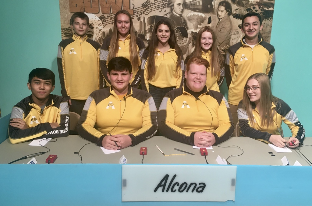 2019-20 Knowledge Bowl Team