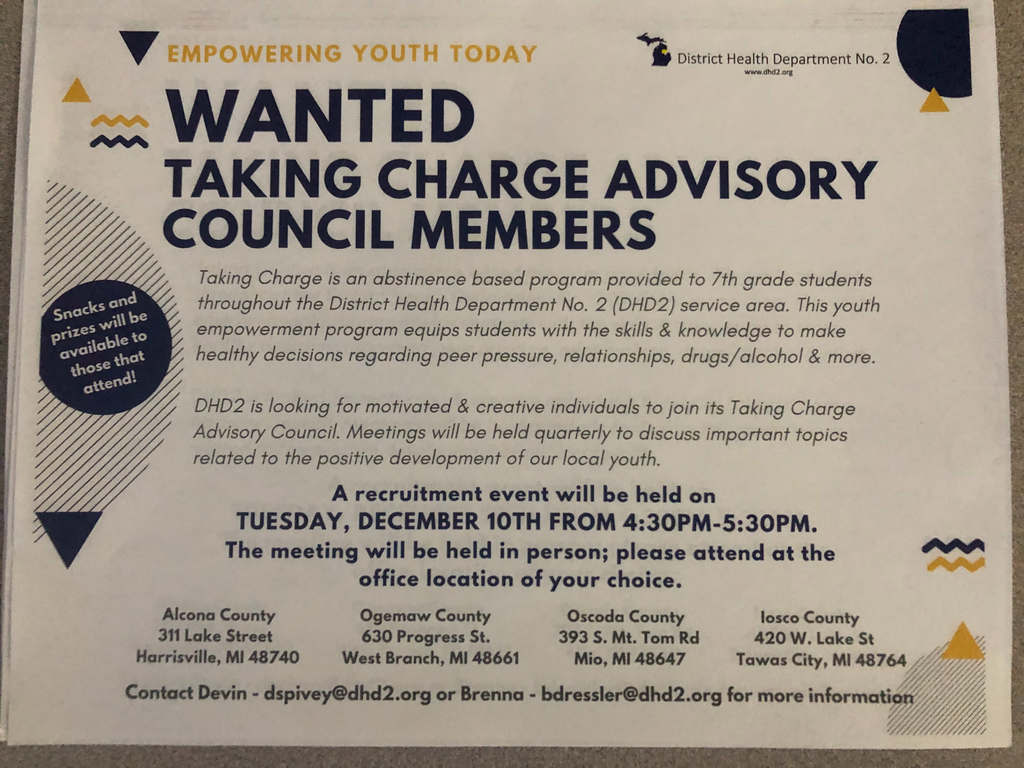 Taking Charge Advisory Council