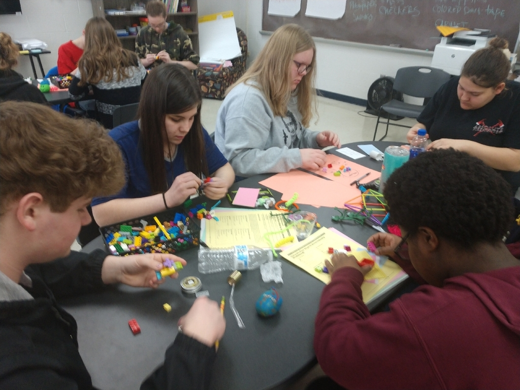 Students learn about the stages of relationship building with Legos