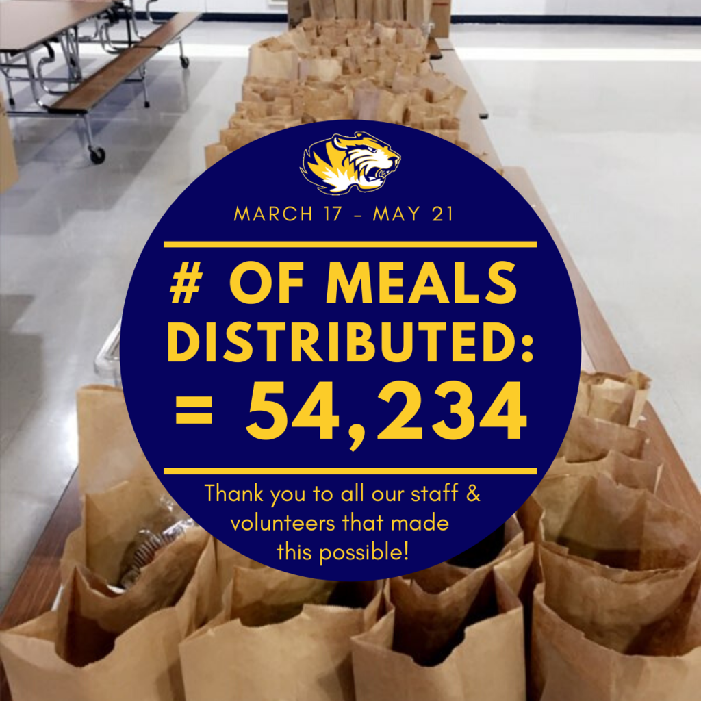 As of today we have served 54,234 meals! Thank you to all our staff and volunteers that made this possible. Our next meal distribution will be on Tuesday, May 26 from 4pm-6:30pm (due to the Memorial Holiday).