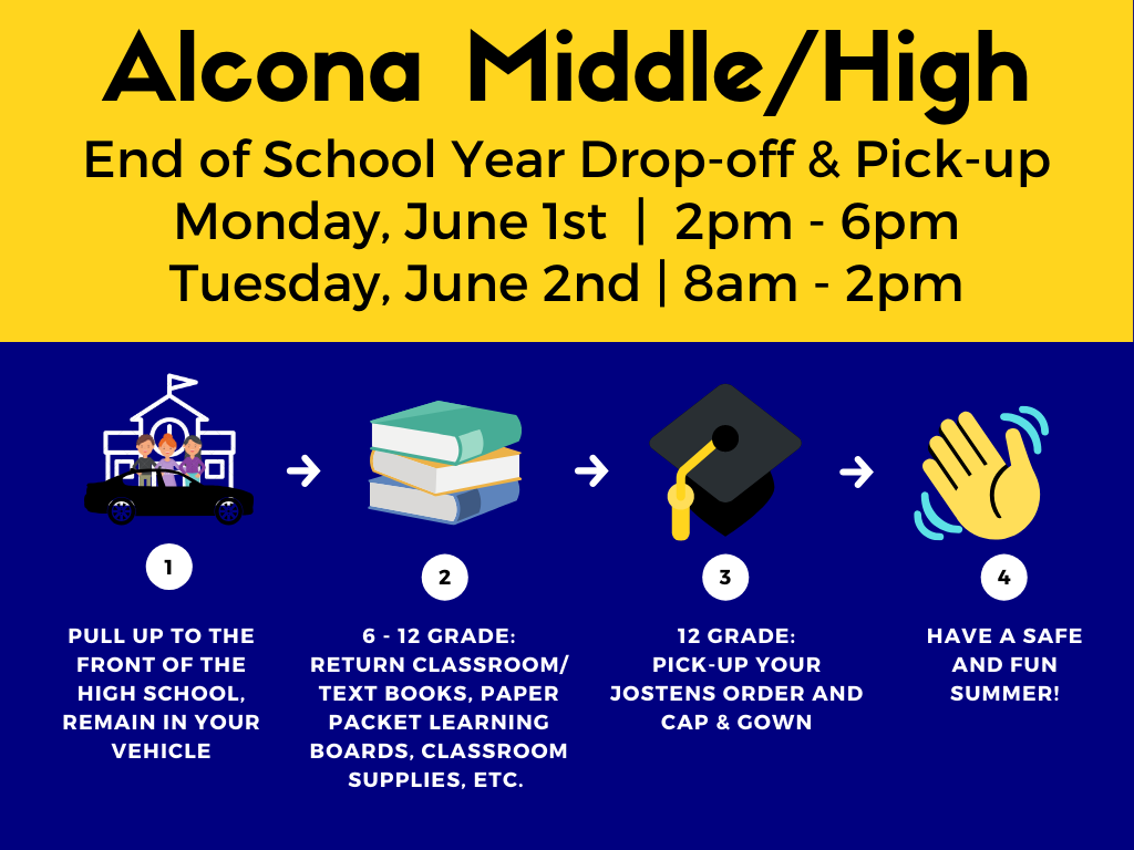 Middle/High School Drop off and Pick up
